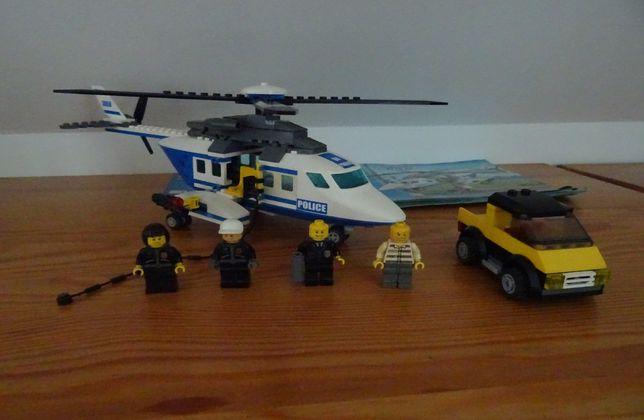 Lego city śmigłowiec policyjny pościg (3658)