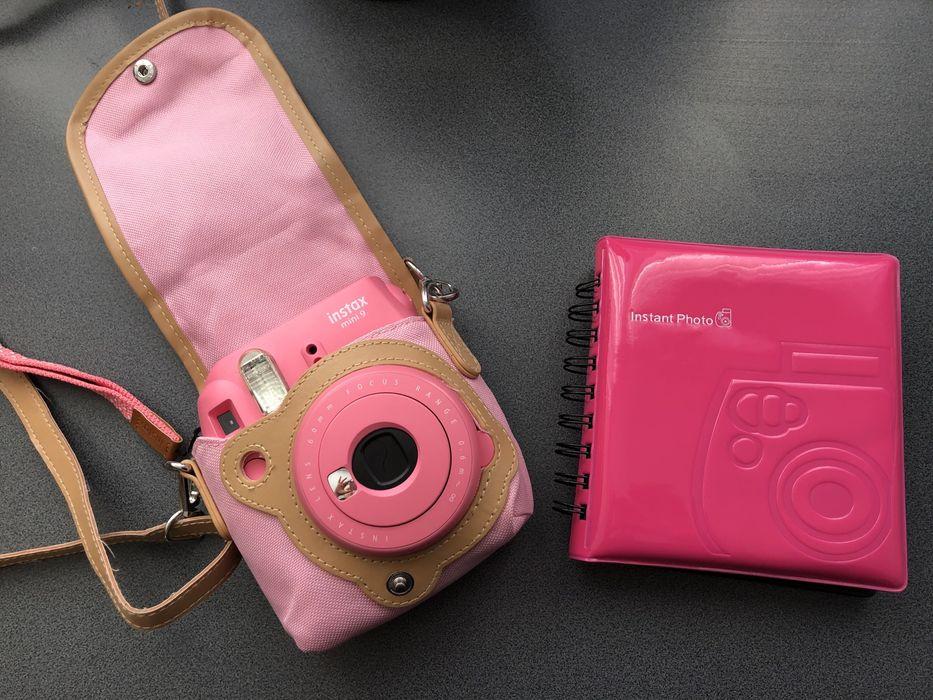 Instax mini 9 różowy Fujifilm +album na zdjecia i etui na aparat Polkowice - image 1