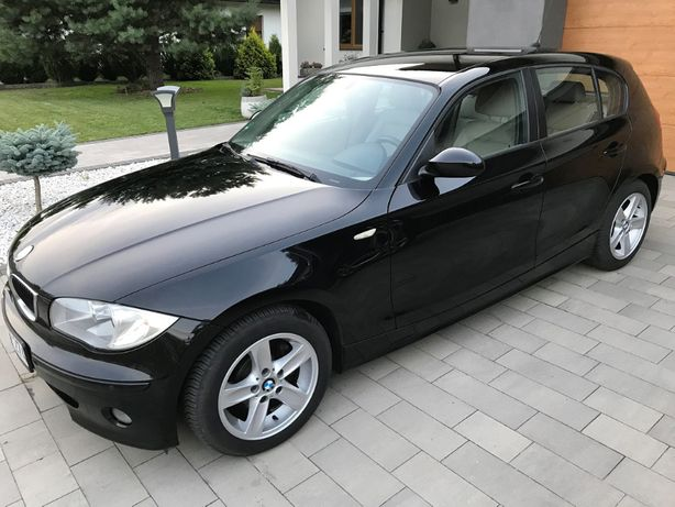 Bezwypadkowe BMW E87 120d 2.0D 163KM M47 2005r. Beżowe skóry ! KREDYT