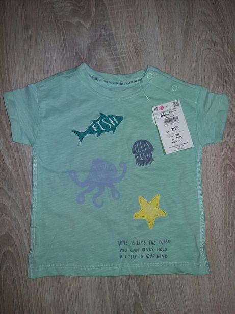 Nowa bluzeczka niemowlęca roz.68 Reserved