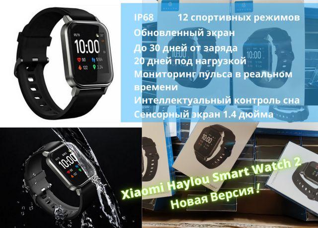 Смарт часы Xiaomi Haylou Smart Watch 2 (LS02) Black