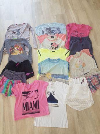 Zestaw T-shirt, spodenki , piżama, bluzka rozmiar s, darmowa wysylka