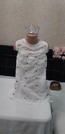 Продам новогодний костюм Снежинки