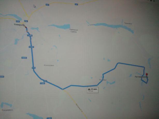 Земельный участок. с. Пустоваровка