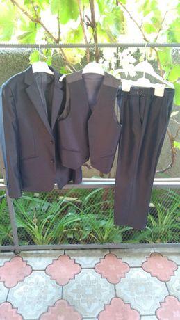Костюм rado + школьный брюки желетка пиджак рост до 145 см размер 60