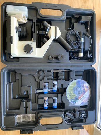 микроскоп bresser biolux nv 20x-1280х с
