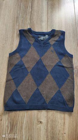 Kamizelka sweterek chłopięcy