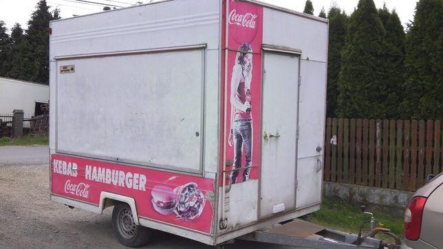 Food-Truck Zabudowa Gastronomia kpl z wyposazeniem - Zamiana