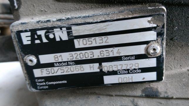 Запчасти коробки передач MAN МАН 18224 Eaton и запчасти редуктора задн