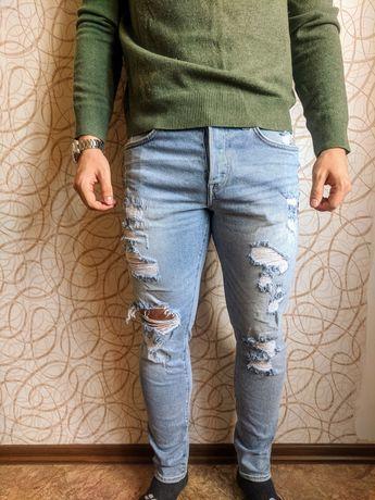 Мужские джинсы 32 размер