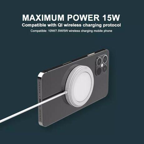 Магнитное Беспроводное зарядное устройство 15 Вт