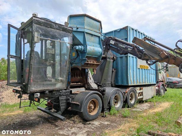 Bruks 804CT / Scania  Rębak BRUKS 804CT na SCANIA 580 KM, rok produkcji: 2003