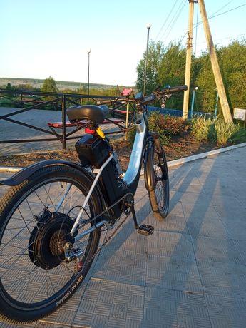 Продам электро-велосипед 67в 2кв