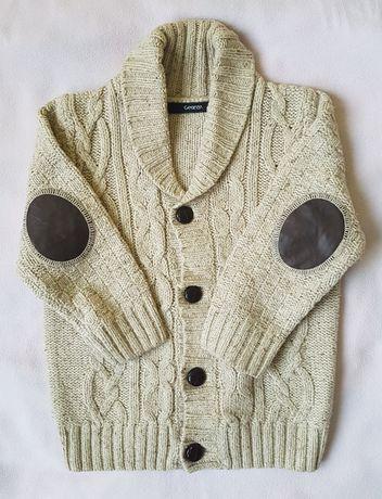 Sweter rozpinany chłopięcy 92-98