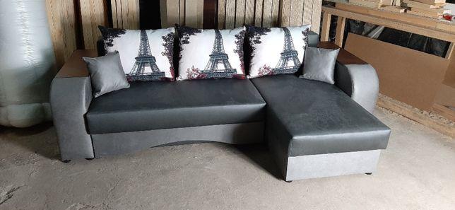 """Угловой диван """"Лаки+"""". Много расцветок на ваш выбор."""