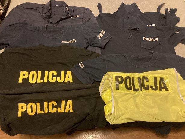 Koszulki policyjne dla policjantki