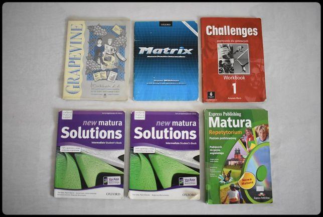 Książki do nauki języka angielskiego - ZESTAW