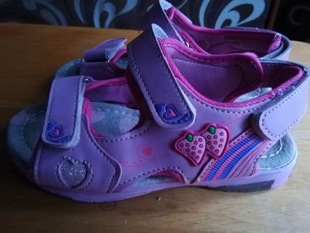 Sandałki w r 35 długość wkładki 22,5 cm