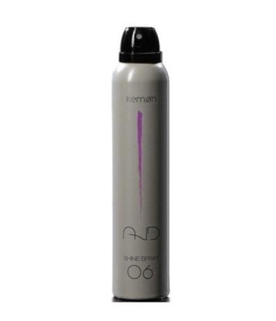 KEMON AND 06 shine spray - zapewnia połysk bez obciążania włosów