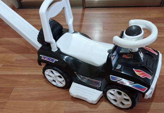 Іграшка, транспорт, машинка з батьківською ручкою
