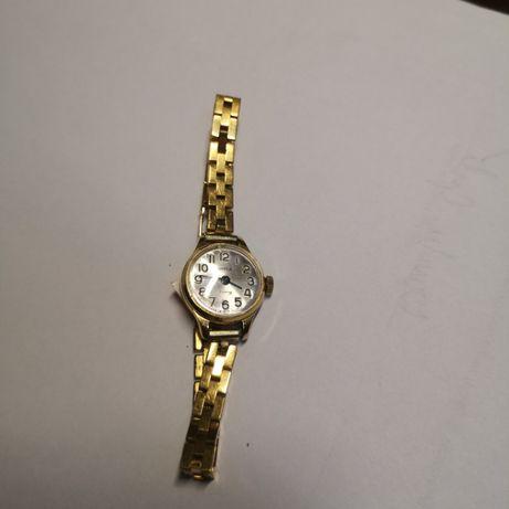zegarek Czajka,17 kam,pozłacany