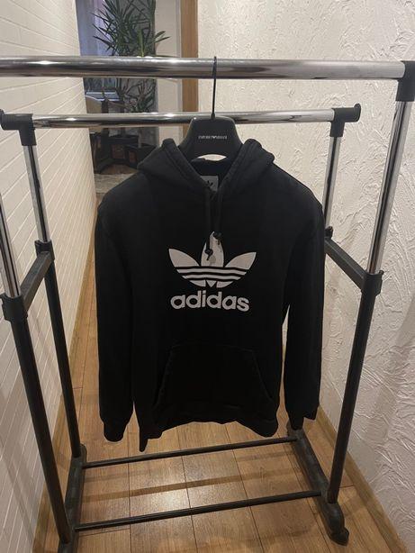 Bluza z kapturem Hoodie Adidas Originals Czarna roz. S
