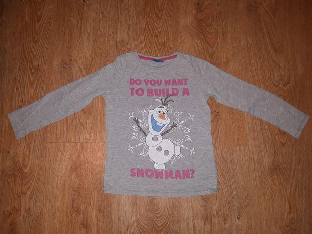 Bluzka, bluzeczka z Olafem, Frozen, Kraina Lodu, rozm.116