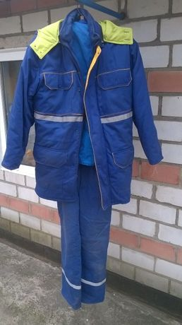 Зимняя куртка и комбинезон Укрнафта. Железно дорожные курточки и робы
