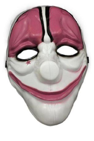 Maska PAYDAY clown horror HOXTON KLAUN