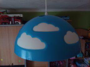 Lampa Ikea dziecięca sufitowa żyrandol do pokoju dla dzieci