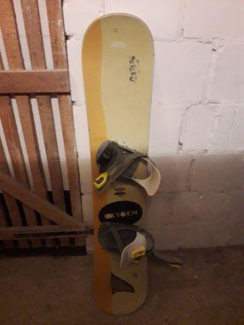 Deska Snowbordowa 129 cm  buty 36