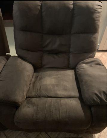 Sofa Individual Com Apoio Pernas tecido alcatraz
