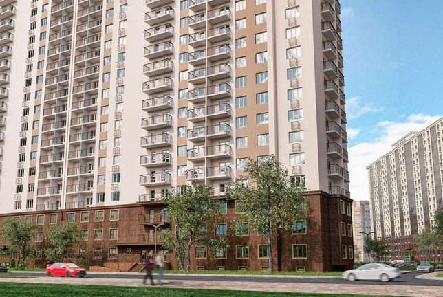 Однокомнатная квартира в рассрочку в ЖК 59 Жемчужина Kadorr Group!