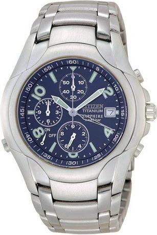 Часы Citizen Marinaut Titanium Хронограф Будильник