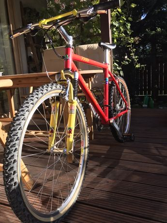 Rower retro MTB Wheeler 7980 rock shox quadra alu Deore XT