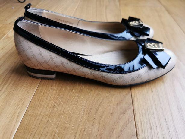 BADURA Pantofle,baleriny, rozm. 37