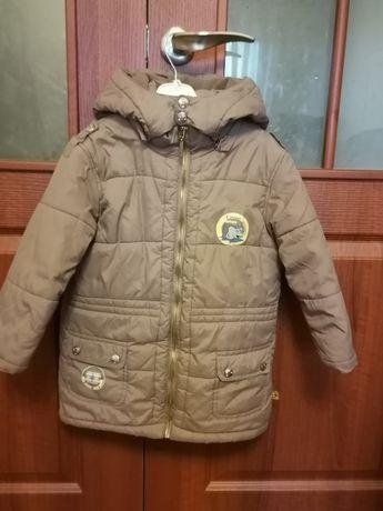 Куртка зимняя,  пальто на мальчика ЕВРОЗИМА.