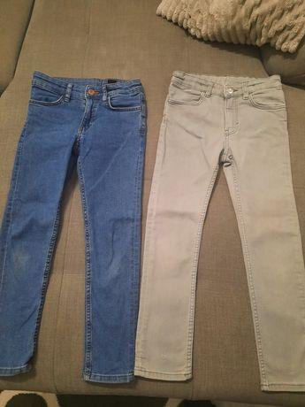 Jeansy dla chłopca 122
