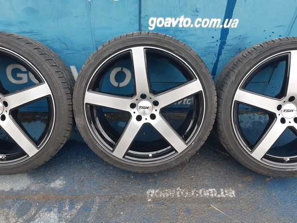 Goauto originally disks TSW 5/112 r20 et35 8.5j dia74.1 с резиной 245