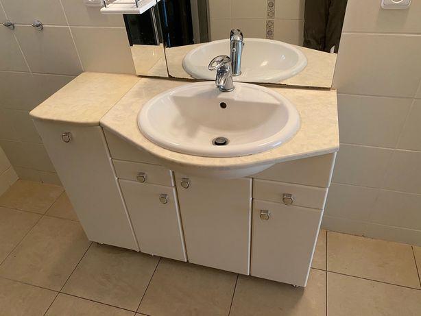 Meble łazienkowe zestaw