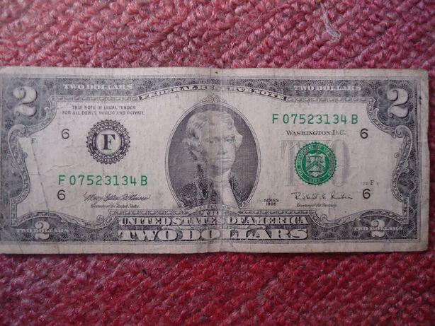3 купюры США