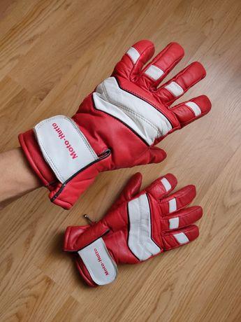 Мотоперчатки Moto Hutto кожаные мото перчатки XL