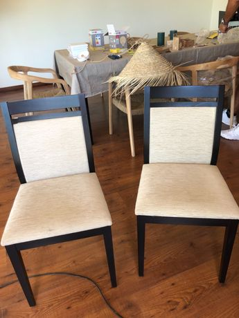 Cadeiras de sala de refeição 10 excelente estado