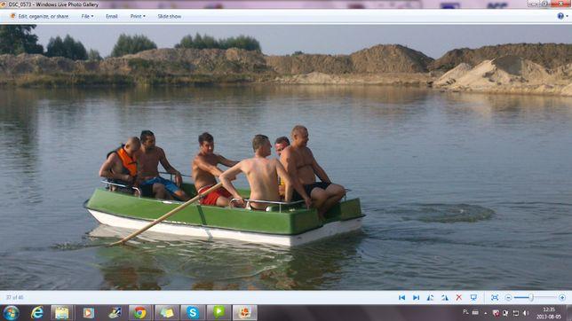 ŁÓDŹ łódka wędkarska rekreacyjna wiosłowo-motorowa Carolina 390