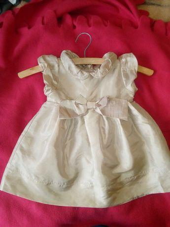 Sukienka niemowlęca r.80 elegancka Cool Club Smyk