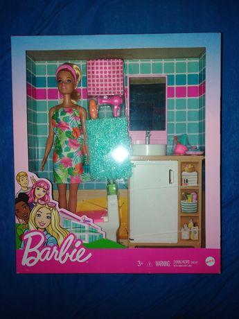 Barbie GRG87 łazienka, mebelki