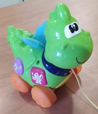 Интерактивная игрушка / каталка chicco Дракоша