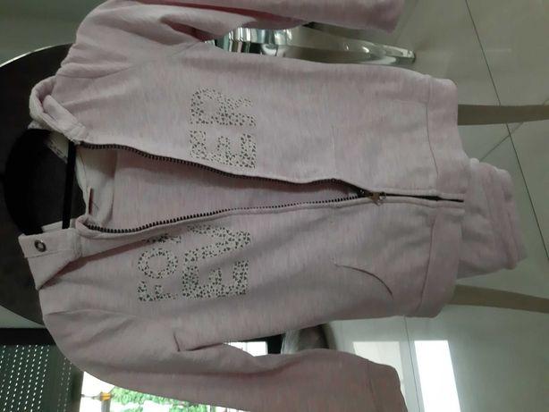Dres rozowy 122 128 j Mayoral spodnie i bluza