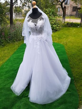 НОВА весільна сукня (новое свадебное платье)!!