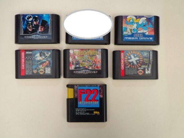 Jogos Mega Drive - Vários I
